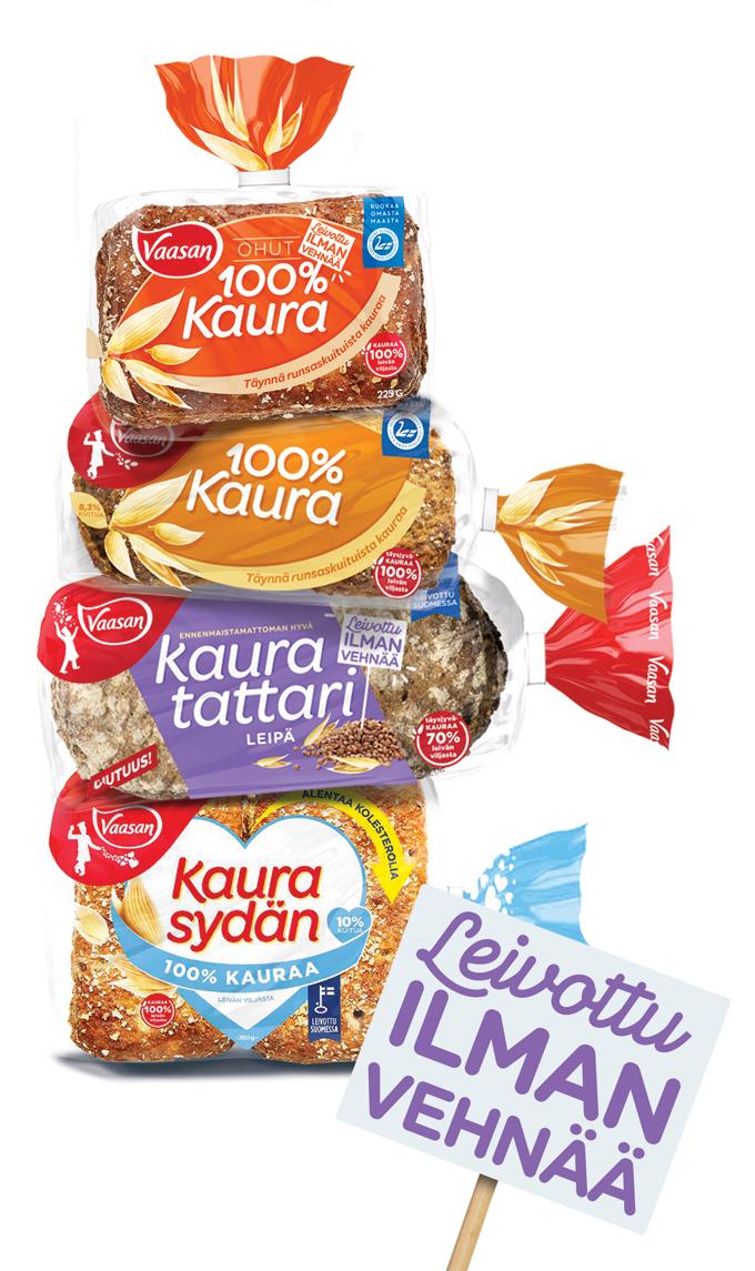 Vaasan 100 Kaura