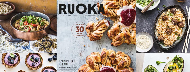 Pirkka-lehden reseptit 1-2/2018