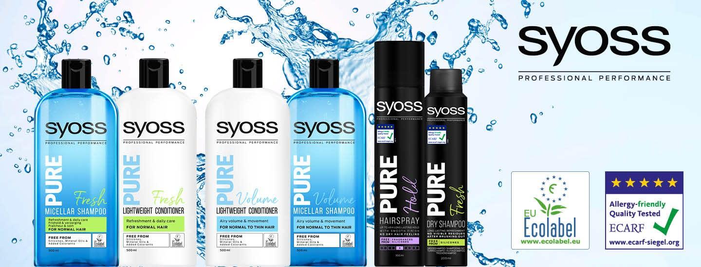 Uudet Syoss Pure -tuotteet