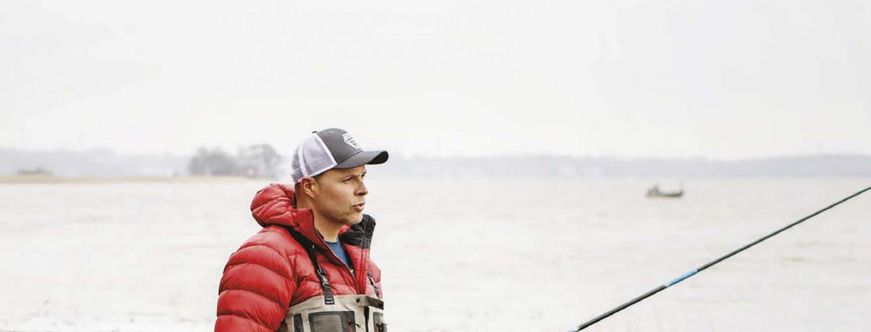 Intohimona kalastus