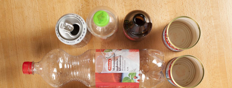 Vie kodin pakkausjäte Rinki-ekopisteeseen kierrätettäväksi