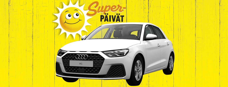 Superpäivien Audi-arvonnan voittaja on arvottu!