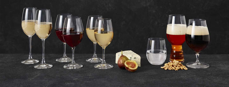 Riedel viini- ja olutlasit