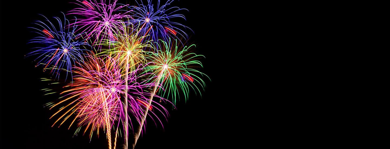 Ilotulitteet ja raketit uudenvuoden juhlintaan