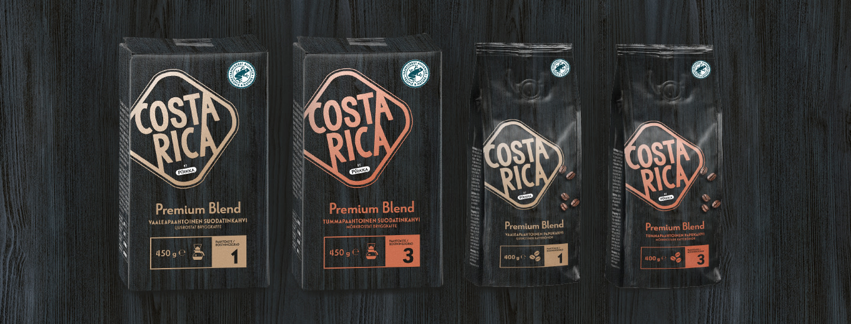 Uudet Pirkka Costa Rica Premium Blend –kahvit