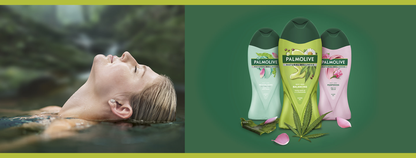 Palmolive Natural Wellness -suihkusaippuat