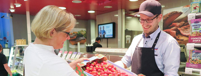 Hävikinhallinnan ratkaisuja K-supermarket Torpparinmäessä