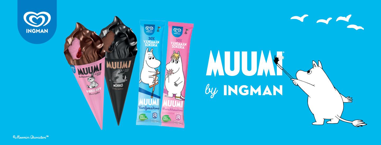 Osallistu Muumi by Ingman -arvontaan ja voita vuoden Muumi-jäätelöt!
