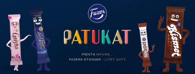 Osallistu ja voit voittaa upean palkinnon Fazer Patukat -kilpailussa!