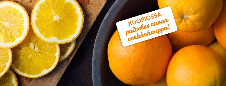 Ruoan verkkokauppa Kuopiossa ja Iisalmessa