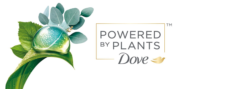 Dove Powered by Plants – Helli ihoasi kasvien voimalla