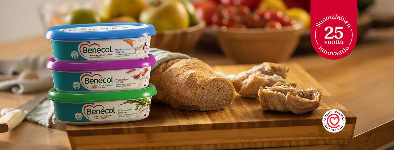 Maistuisiko uusi, herkullisen helppo tapa – Benecol-tuorejuusto