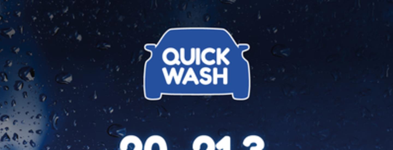 Quick Wash -pesukampanja on käynnissä 22.-28.3. – Plussa-kortilla kaikki automaattipesut -30 %!