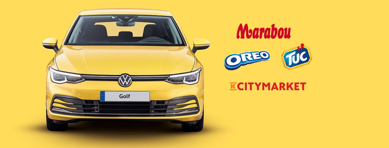 Osta keksejä K-Citymarketista ja voita uusi Golf käyttöösi