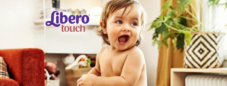 Osta 5 Libero Touch -vaippapakkausta, saat yhden veloituksetta!