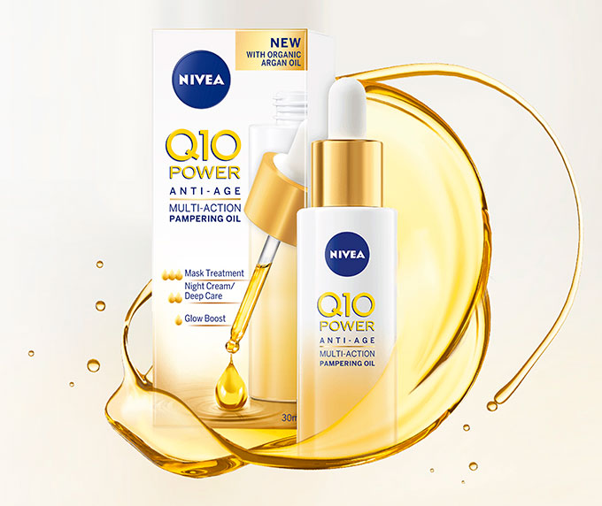 Q10 Nourishing oil texture 680
