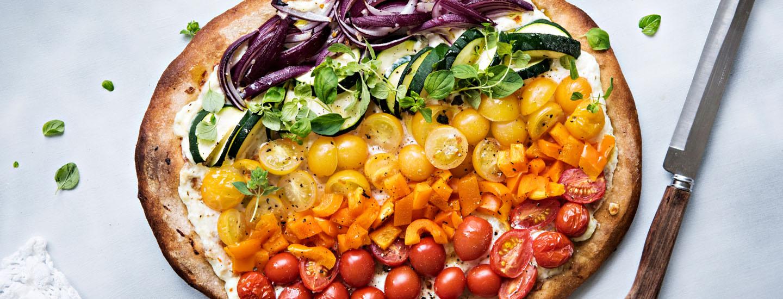 Sateenkaariruokavalio - väriruokaa joka päivä