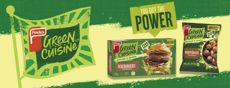 Osallistu Findus Green Cuisine -arvontaan ja voita 100 € lahjakortti!