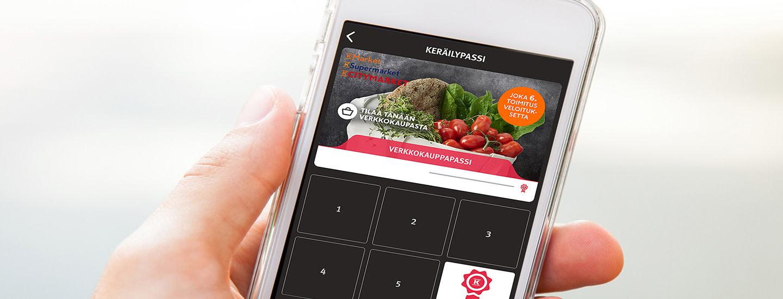 Mikä on K-Ruoka-sovelluksen keräilypassi?