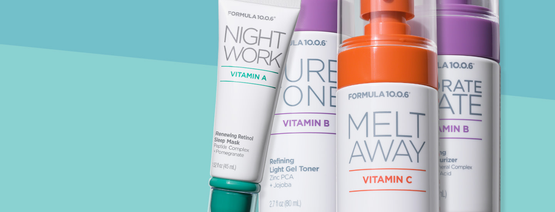 Elinvoimaa iholle – Formula 10.0.6 Vitamin Collection tukee ihon hyvinvointia