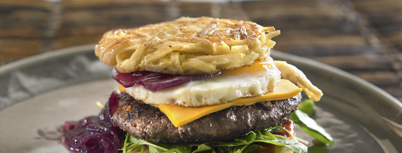 Mikä ramen burger?