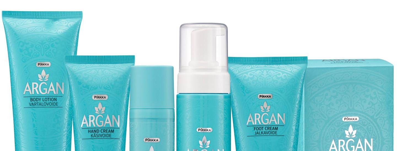 Pirkka Argan tuo luksusta päivittäiseen ihonhoitoon