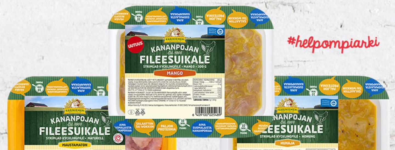 Sukkelaan suikaleilla - Kariniemen Kananpojan Fileesuikale Mango