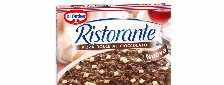 Dr. Oetkerin suklaapizza on täydellinen jälkiruoka jaettavaksi