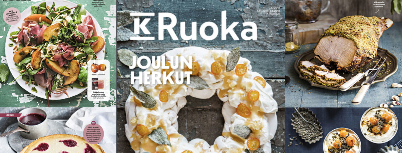 K-Ruoka-lehden reseptit 6/2017