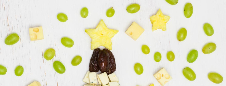 Pikkujoulujen kaunein juustotarjotin