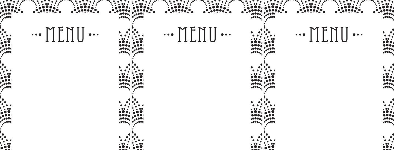 Tulosta kauniit menu-kortit!