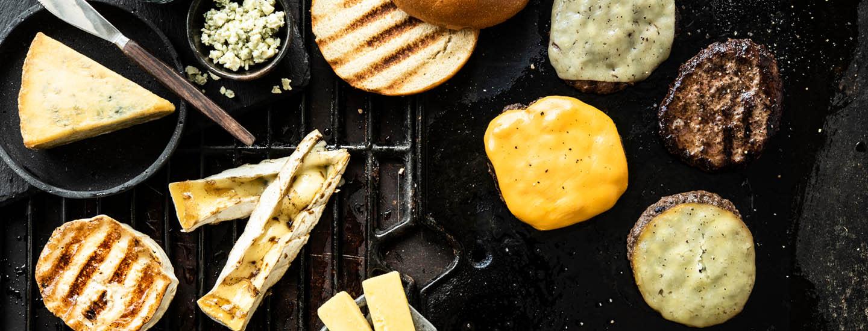 Mikä juusto hampurilaisen väliin?