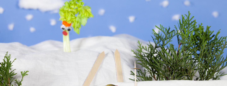 Lasten makusatu: Hillitön herkkukurkku hiihtoladulla