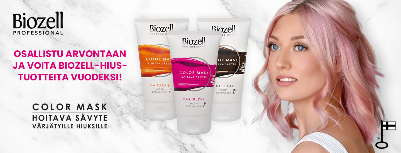 Osallistu arvontaan ja voita Biozell-hiustuotteita vuodeksi!