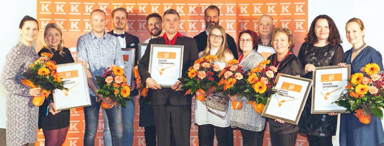 K-Ruoka Awards 2016 voittajat