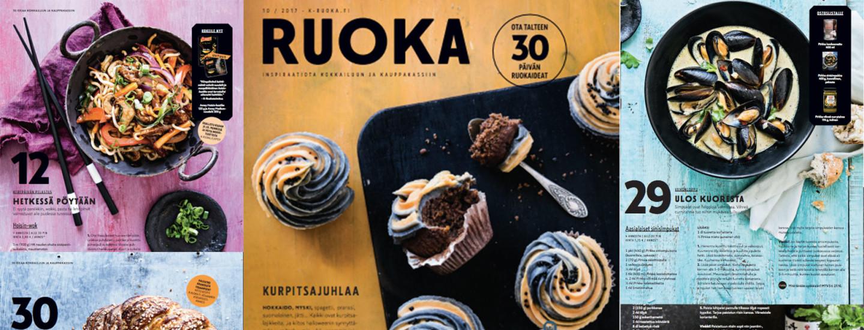 Pirkka-lehden reseptit 10/2017