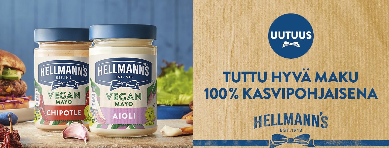 Hellmann's lanseeraa kaksi uutta vegaanista majoneesia!