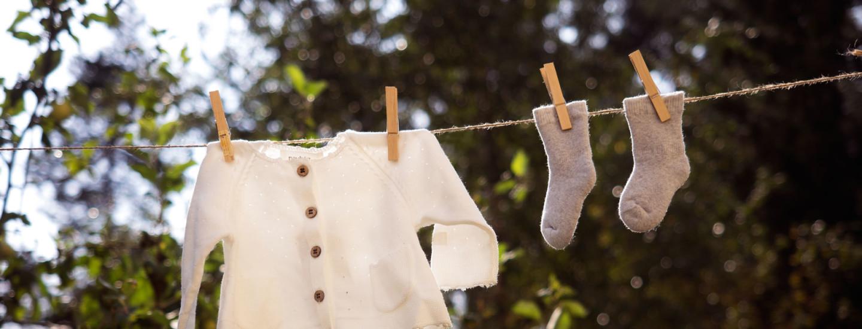 Näin peset vauvanvaatteet