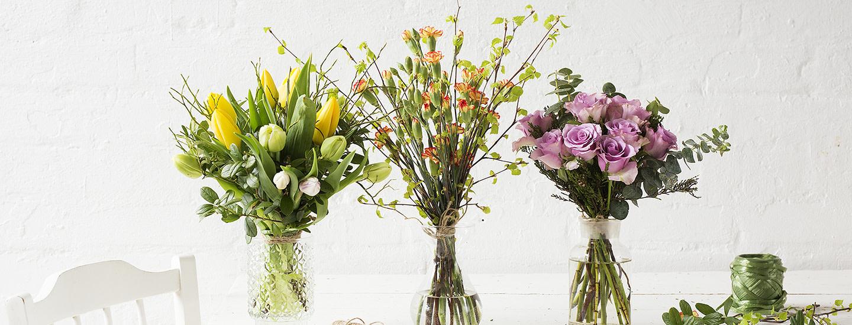 Miten sidotaan kukkakimppu? Katso ammattilaisen ohjeet