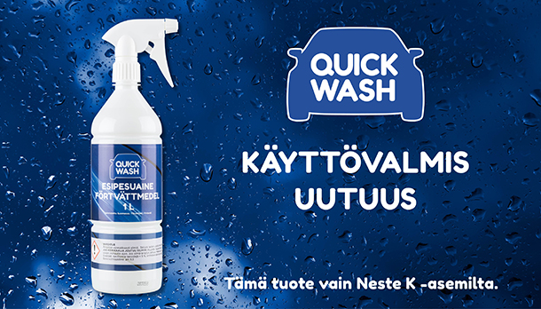 Quick Wash Pesuaine