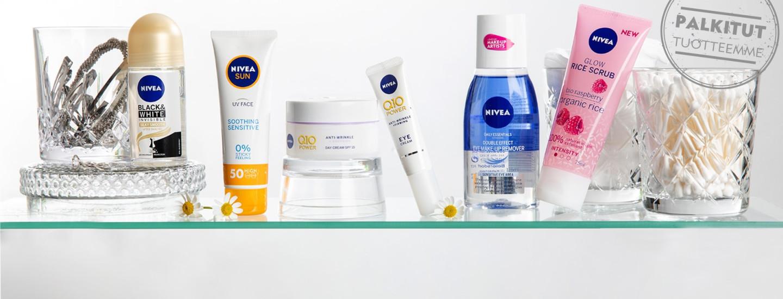 Palkitut NIVEA-tuotteet