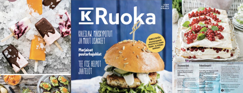 K-Ruoka 4/2017 reseptit