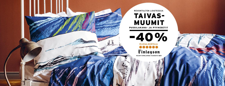 Kiehtovat Finlayson Taivasmuumi-tuotteet K-Marketista