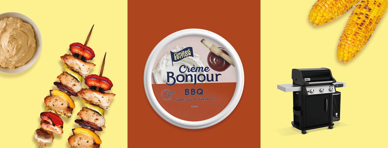 Osallistu Crème Bonjour -arvontaan ja voita Weberin uutuusgrilli!