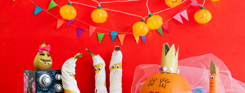 Lasten makusatu: Kurpitsan suuri halloween-yllätys