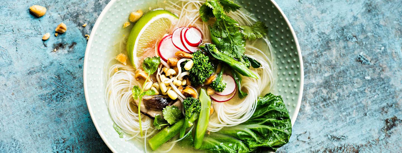 Vegaaninen ruokavalio – koko kasvikunta lautasella
