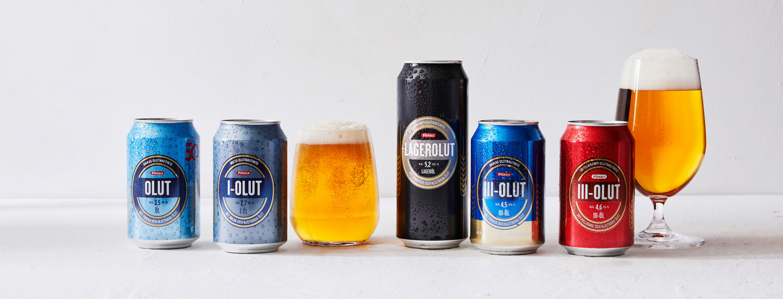 Suomalaiset Pirkka-oluet