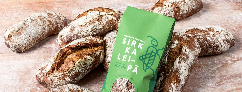 Fazer tuo maailman ensimmäisenä hyönteisleivän K-ruokakauppoihin