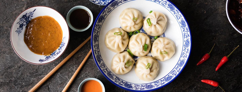 Björck & Co. dumplings-annokset