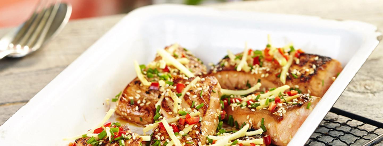 Aasian maut grillissä